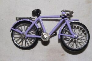VINTAGE 1970'S PURPLE TOY MINITATURE BICYCLE, NICE, ORIGINAL
