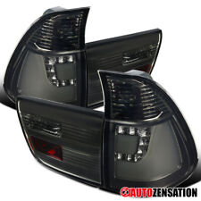 For 2000-2006 BMW X5 E53 Pair Smoke Lens LED Tail Lights Lamps w/ Neon Tube DRL