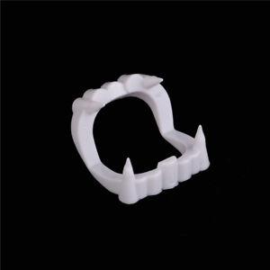 1pcs Halloween Bloody Party Vampire Fake False Teeth Tooth Denture Costume BDAU
