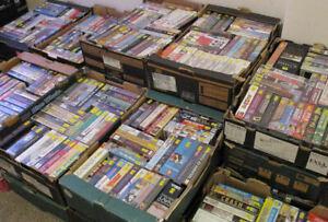 Big box/ex-rental VHS videos from £2.50 each - horror/thriller