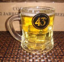 12 LICOR 43 HEAVY GLASS SHOT GLASSES MINI HANDLED MUGS COLLECTIBLE BARWARE NEW