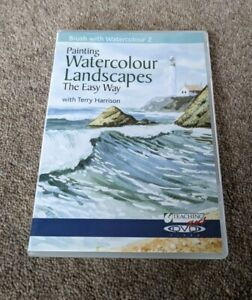 PAINTING Watercolour Landscapes The Easy Way Terry Harrison Region Free UK DVD