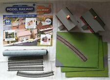 Hachette Your Model Railroad Village 00 Gauge - Mixed Lot Like New