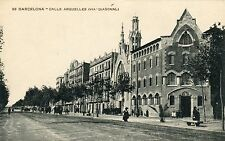 Spain Barcelona - Calle Arquelles old postcard