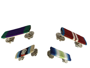 CLUTCH  & PIN ON RIBBON BAR FOR BRITISH MEDALS, AWARDS, ORDERS AND DECORATIONS