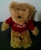 Small Ralph Lauren Plush Polo Teddy Bear Stuffed Animal Gift toy kids