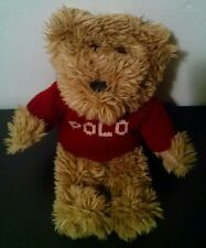 Small Ralph Lauren Plush Polo Teddy Bear Stuffed Animal Gift toy kids