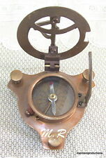 Nautical Brass Maritime West London Sundial Compass 3' Nice Item