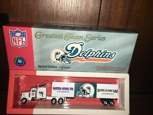 2001 MIAMI DOLPHINS GREATEST TEAM SERIES TRAILER/WHITE ROSE COLLECTIBLES.