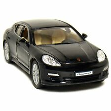 "Kinsmart 5"" Porsche Panamera S diecast model toy 1:40 scale car sedan Black"