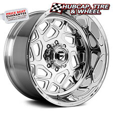 "FUEL FORGED FF23 POLISHED 24""x16 CUSTOM WHEELS RIMS (4 RIMS) 9 LIP STYLE CHOICES"
