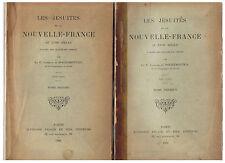 DE ROCHEMONTEIX-LES JESUITES ET LA NOUVELLE-FRANCE AU XVIIIè-LIVRE ANCIEN RARE