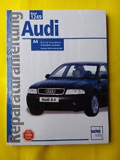 Reparaturanleitung Audi A4 Beziner 1.6 + 1.8 ab 1999 Handbuch Wartung