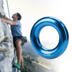 Round Rappel Climb Ring for Hammock Setup Hanging Outdoors Uses Climbing Duty UK