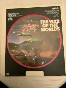 CED VideoDisc - The War of the Worlds