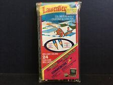 Vintage 24 LAURENTIEN Colored Pencils * Some Unused * WIN COMMODORE * Ad