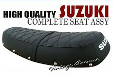 SUZUKI T250 T350 COMPLETE SEAT W/ BUTTONS [CROSS HP SC]