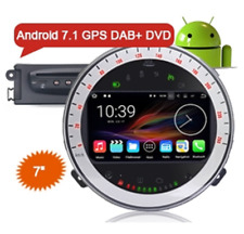 "ES4717B 7"" Android 7.1 DAB+ Car Audio System GPS WiFi Canbus for BMW Mini Cooper"