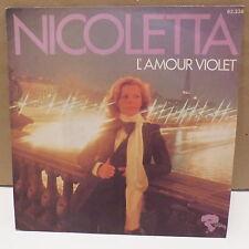 NICOLETTA L amour violet 62238