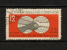 (YYAZ 483) Vietnam 1960 USED Mich 144 Scott 139 Trade Union