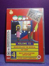 SOUTH PARK Season 4 Volume 15(4 Episodes) DVD  Includes Helen Keller The Muscial