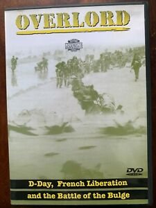 Overlord DVD 1975 World War II D-Day Battle of the Bulge Movie Classic