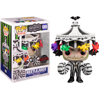 RARE Beetlejuice with Carousel Hat Funko Pop Vinyl New in Box