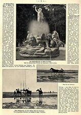 Das erste wirkliche Pferderennen auf dem Duhner Watt bei Cuxhaven c.1903