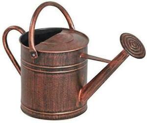 Panacea Copper Watering Can 2 Gallon Vegetable Garden Pepper Herbs Plants Flower