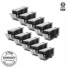 10 PGI-220BK PGI-220 BLACK Ink Cartridge for Canon PIXMA MP560 MP540 MX860 MP560
