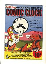 "Vintage ""Oscar and Friday's Comic Clock"" by Reed and Associates 1940"