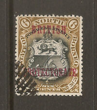 NORTH BORNEO SG 132a USED SCARCE NO DOT AFTER PROTECTORATE, FREE SHIPPING IN USA