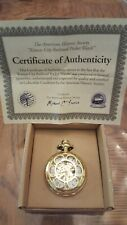 New Kansas City Railroad POCKET WATCH Limited Edition Jesse James in box