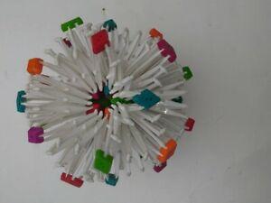 Hoberman Sphere Original - Rainbow Expanding Ball Toy Multicolor Transforming