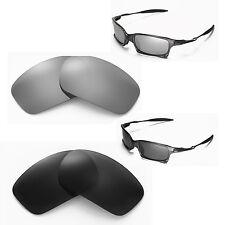 New Walleva Polarized Black + Titanium Lenses For Oakley X Squared