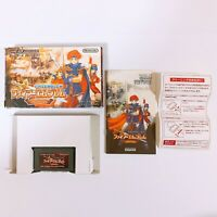 Fire Emblem Fuuin no Tsurugi Binding Blade Game Boy Advance GBA Nintendo Japan