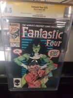 Fantastic Four 275 CGC 8.5 SS Stan Lee VF+