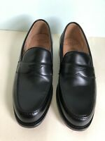 Joseph Cheaney Hudson Penny Loafer in Black Calf Leather UK 8.5 F