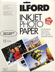 Inkjet Photo Paper Ilford Semi Matte 8.5x11