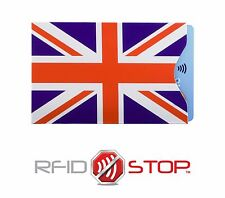 KORUMA RFID Blocking Sleeve helps to  Avoid Card Clash issue Union Jack