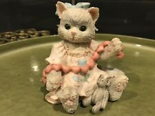 1992 A Good Friend Warms The Heart Calico Kittens Enesco No Box