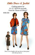 Rtb204 Little Dress & Jacket pattern to fit Grace and other Rtb101 bodies