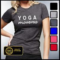 Yoga Shirts, Yoga Momma Tshirt, Funny Yoga Tees