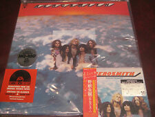 AEROSMITH S/T 180 GRAM LIMITED NUMBERED VINYL LP + JAPAN REPLICA RARE OBI CD SET