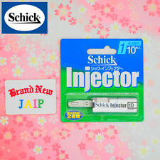 Schick☆Japan-Razor Blade Refill Injector 10P,JAIP.