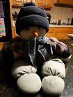 "23"" Snowman Christmas Plush hat, coat, scarf outfit"