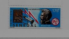 SENEGAL Sc 427 NH issue of 1976 - SCINCE - BELL