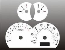 White Face Gauge Set Fits 2001-2003 Hyundai Elantra GT Dash Gauge Cluster 01-03