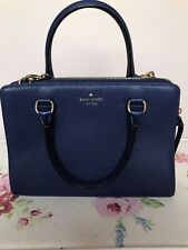 Kate Spade Blue Crossbody Bag Blue Excellent Condition