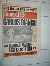 FRANCE FOOTBALL 1548 09/12 1975 CARLOS BIANCHI OGC NICE ASSE G. ROBERT OLYMPIQUE